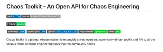 chaos toolkit
